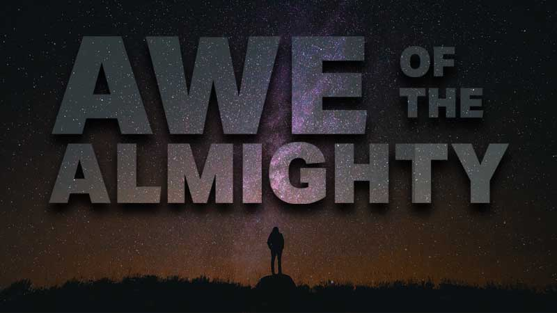 Awe of the Almighty